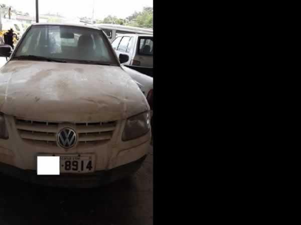 ITEM Nº: 23; Automóvel; VW Gol 1.0 Giv, ANO: 2008/2009, PLACA: 8914, CHASSI: 054, COR: br