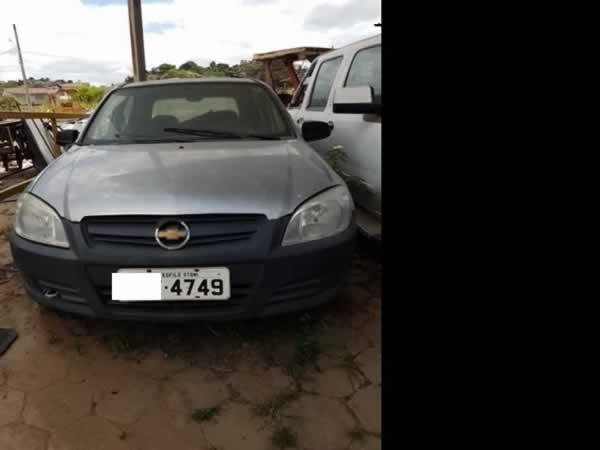 ITEM Nº: 26; Automóvel; GM Celta 4P Life, ANO: 2010/2011, PLACA: 4749, CHASSI: 470, COR: