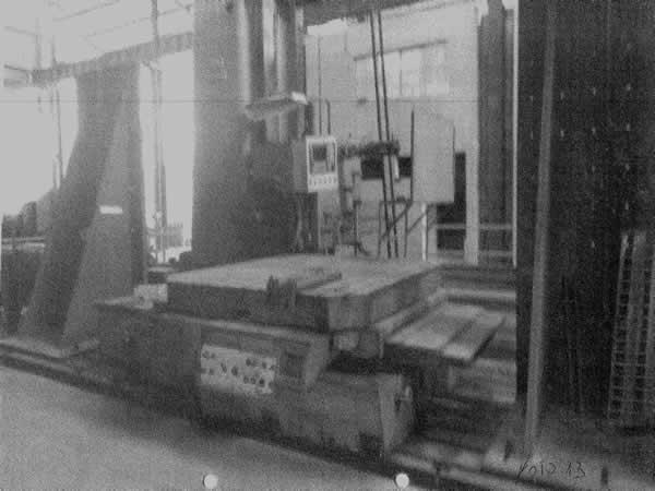 Timóteo - Mandrilhadora de Chão CNC (Computadorizada e Retrofitada/Adaptada) Union Capacid