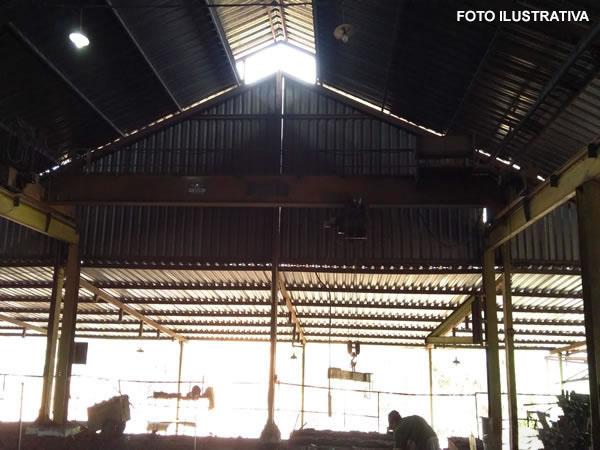 Itatiaiuçu - Ponte Rolante PHB (Polig Heckel do Brasil)  POHLIG HECKEL DO BRASIL, capacida...