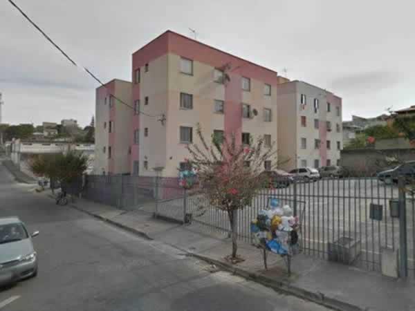 ITEM Nº: 044; BETIM; Apartamento, 41,17 m2 de área privativa, 2 qts, a.serv, WC, sl, cozi