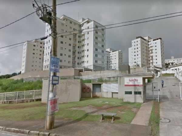 ITEM Nº: 038; BETIM; Apartamento, 52,74 m2 de área privativa, 2 qts, varanda, a.serv, WC,