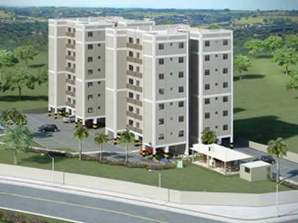 ITEM Nº: 046; BETIM; Apartamento, 47,4 m2 de área privativa, 2 qts, a.serv, WC, sl, cozin...