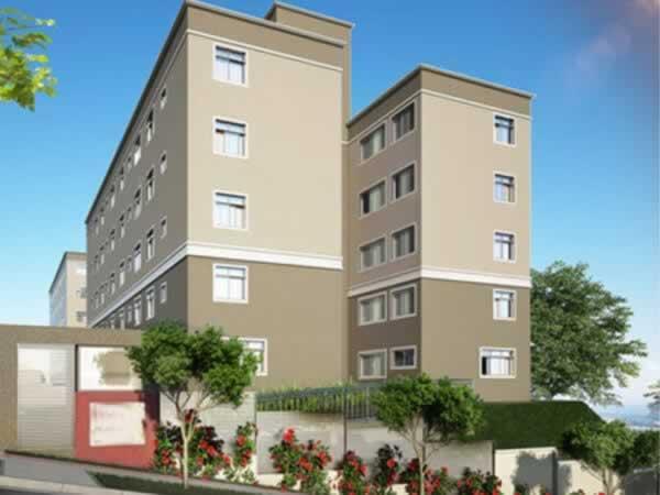 ITEM Nº: 015; BELO HORIZONTE; Apartamento, 44,27 m2 de área privativa, 2 qts, a.serv, WC,