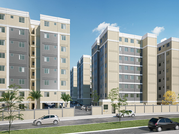 ITEM Nº: 234; SANTA LUZIA; Apartamento, 47,4 m2 de área privativa, 2 qts, a.serv, WC, sl,...