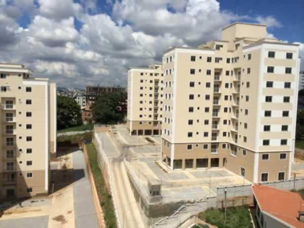 ITEM Nº: 026; BETIM; Apartamento, 52,32 m2 de área privativa, 2 qts, varanda, a.serv, WC,