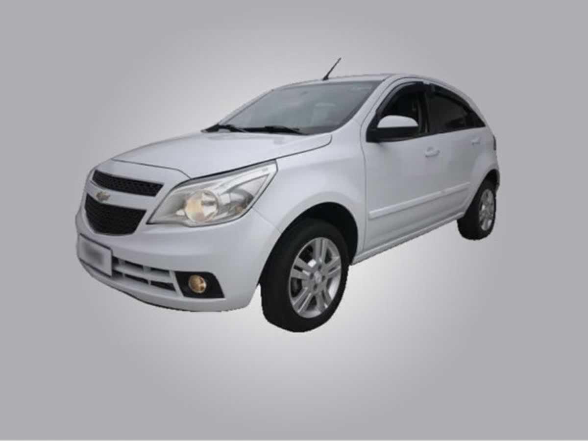Visconde do Rio Branco - Veículo Agile LTZ Chevrolet, ANO: 2012/2013,  COR: Verde, PLACA 3...
