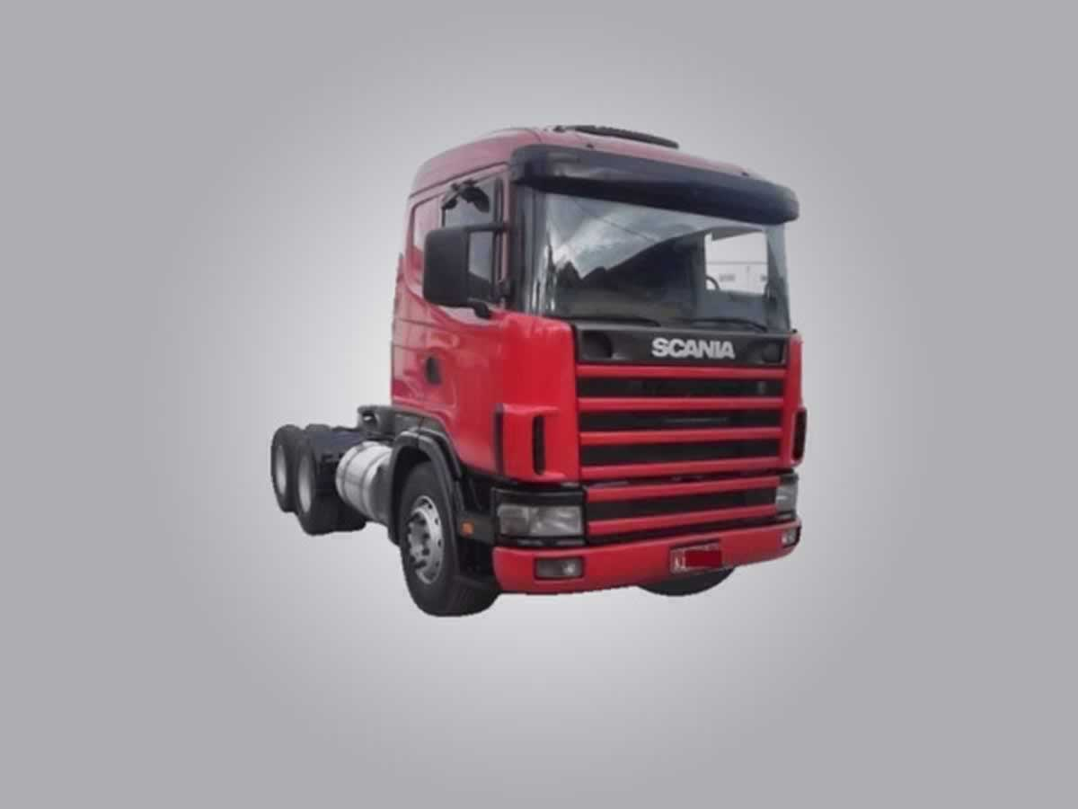 Araxá - Caminhão Trator T124 GA4X2NZ 360 Scania, ANO: 1999,  COR: , PLACA 9234, CHASSI 135...
