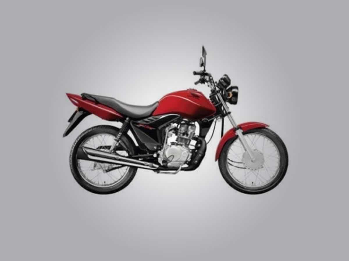 Manga - Motocicleta CG 125 Fan KS Honda, ANO: 2013/2014,  COR: Preta, PLACA 5722, CHASSI 9...
