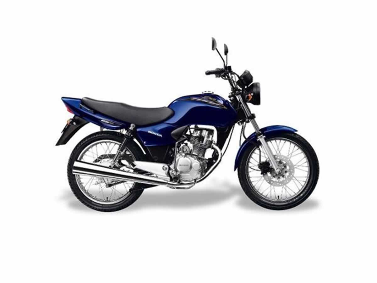 Caratinga - Motocicleta CG 125 Titan KS Honda, ANO: 2004, COR: Azul, PLACA 5661, CHASSI 32