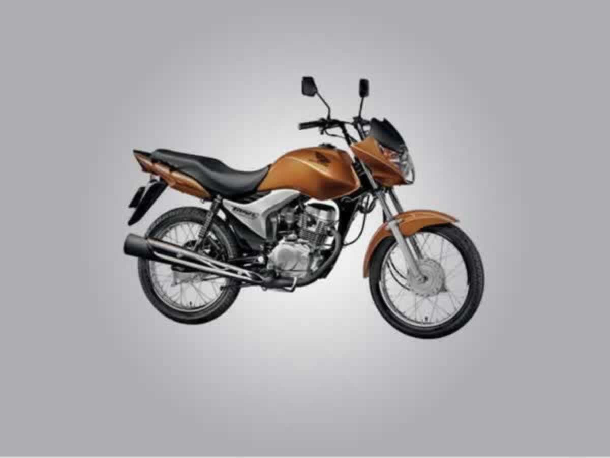 Oliveira - Motocicleta CG 150 Titan Mix EX Honda, ANO: 2009/2010,  COR: Laranja, PLACA 784...