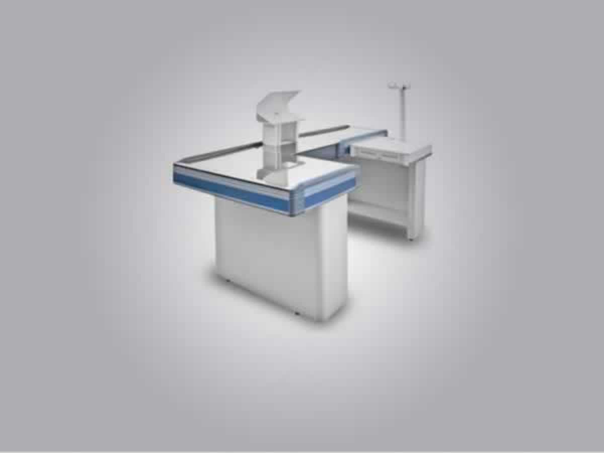 Lambari - Check-Out Cristal Aço 2 metros standard  Com kit automação.  ==> IMPORTANTE: O p...