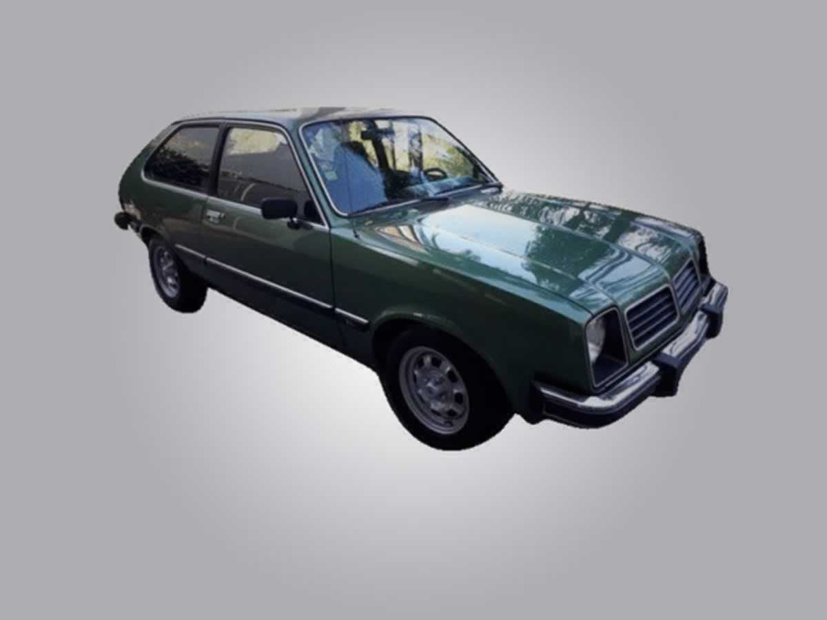 Pedro Leopoldo - Automóvel Chevette Hatch GM, ANO: 1980/1980, COR: Prata, PLACA 2679, CHAS