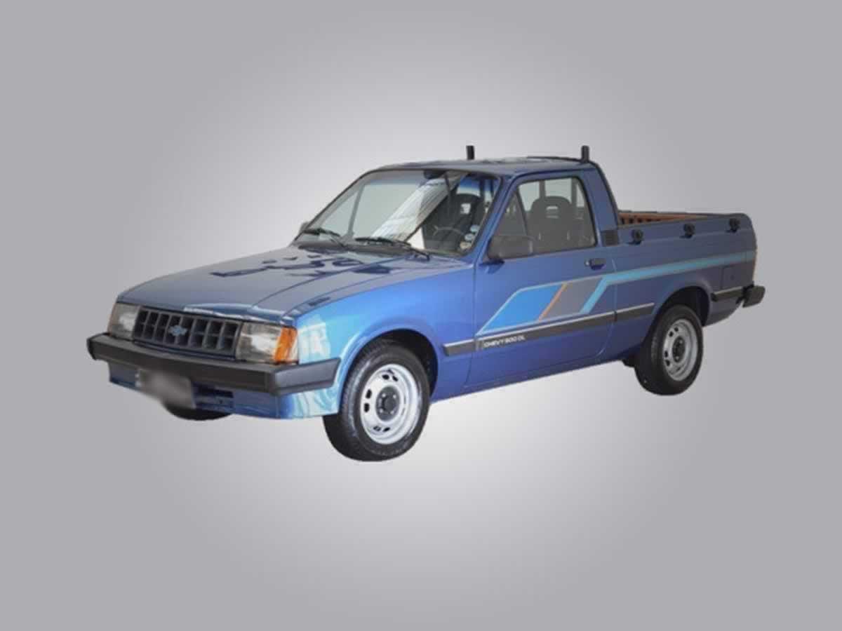 Pedro Leopoldo - Caminhonete Chevy 500 GM, ANO: 1987/1987, COR: Azul, PLACA 8092, CHASSI 3