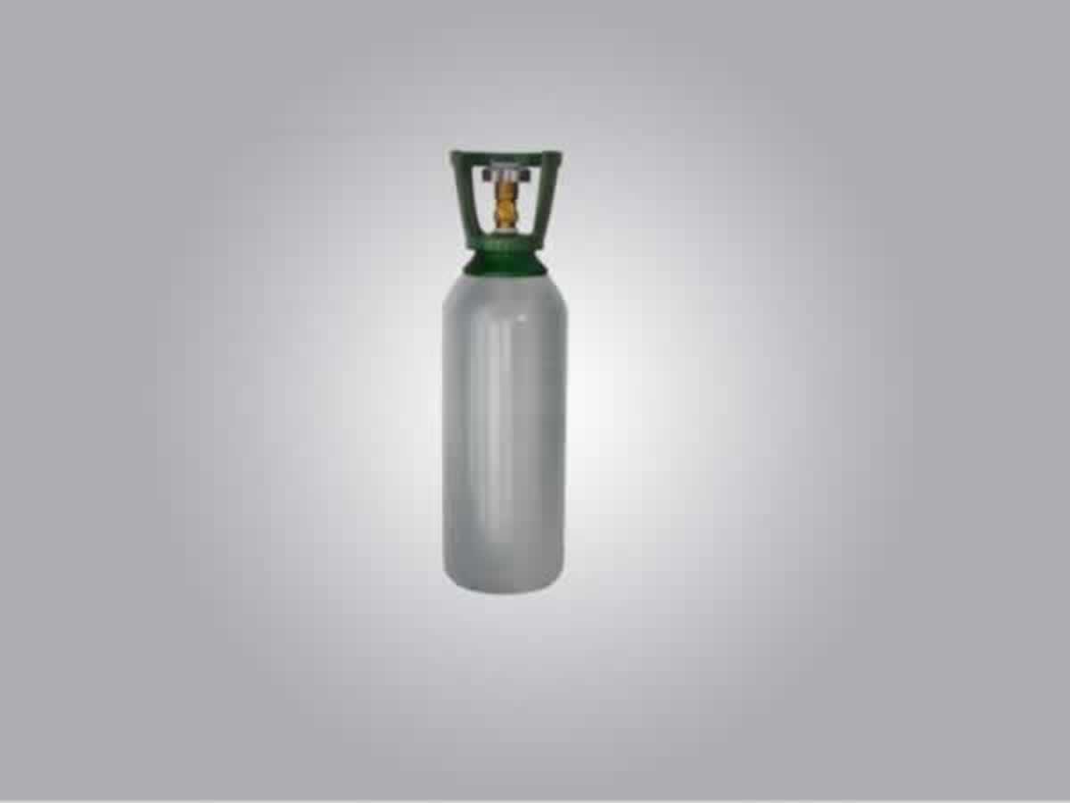 Paraguaçu - Quant.: 230 - Cascos vazios de alumínio para armazenamento de gás butano com c