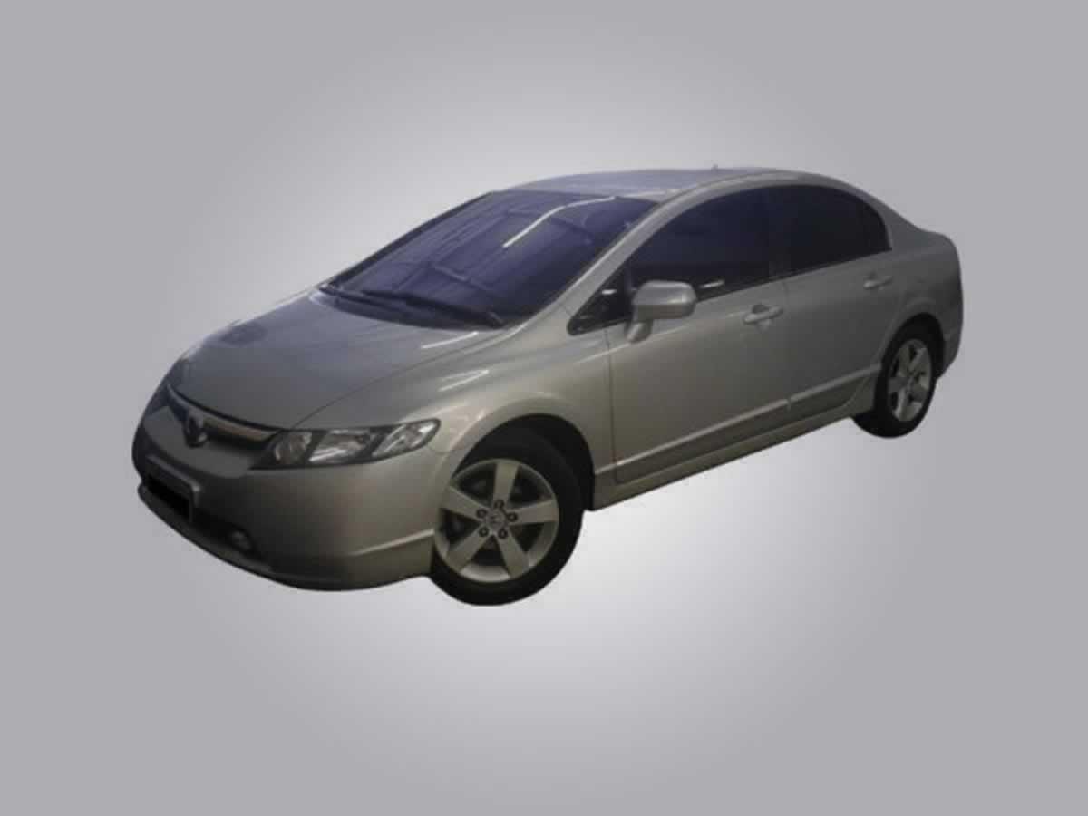 Tocantins - Veículo Civic LXS Honda, ANO: 2009/2009, COR: Cinza, PLACA 4507, CHASSI 219 Va...