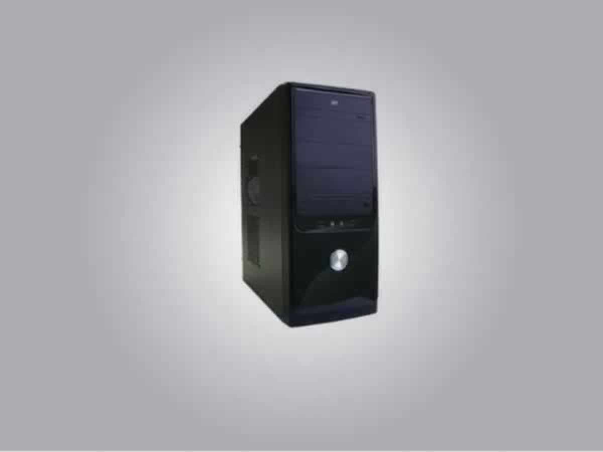 Três Pontas - CPU EPCOM INTEl Pentium Dual E2140 1.60GHZ e 960 MB de memória RAM, preto em
