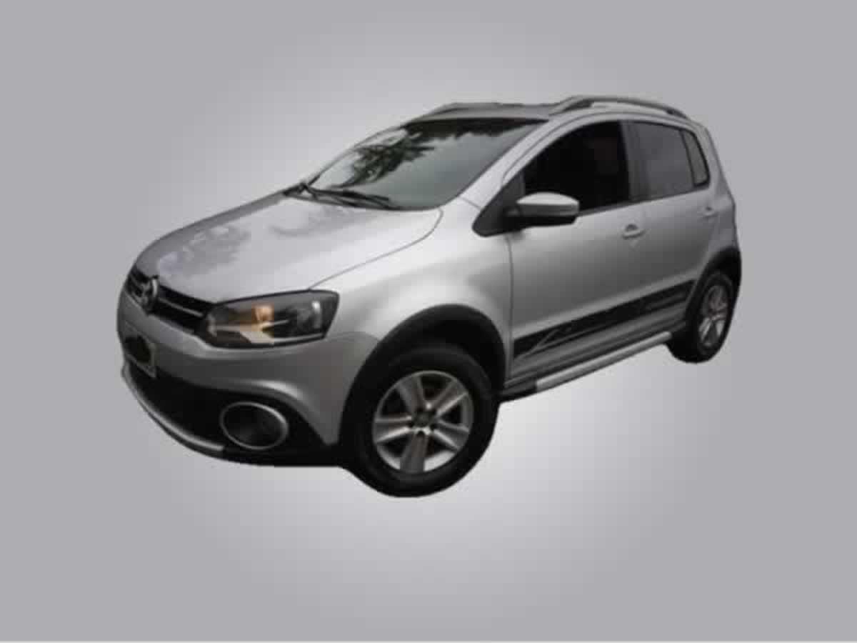 Rio Pardo de Minas - Crossfox GLL VW, ANO: 2011/2012,  COR: Prata, PLACA 4207, CHASSI 157