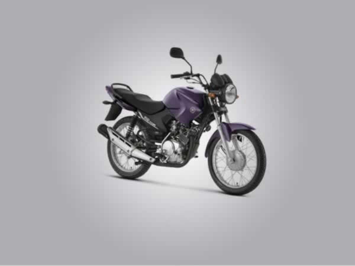 São Sebastião do Paraíso - Motocicleta Factor YBR125 K Yamaha, ANO: 2012/2013,  COR: Roxa,