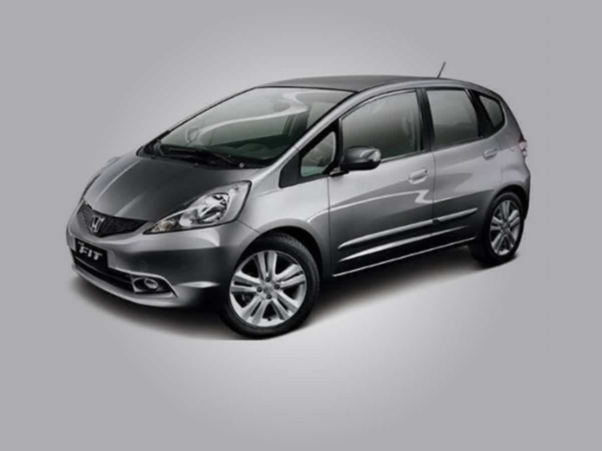 Ipatinga - Veículo Fit LX Honda, ANO: 2010/2010,  COR: Vermelha, PLACA 0074, CHASSI 719 Va...