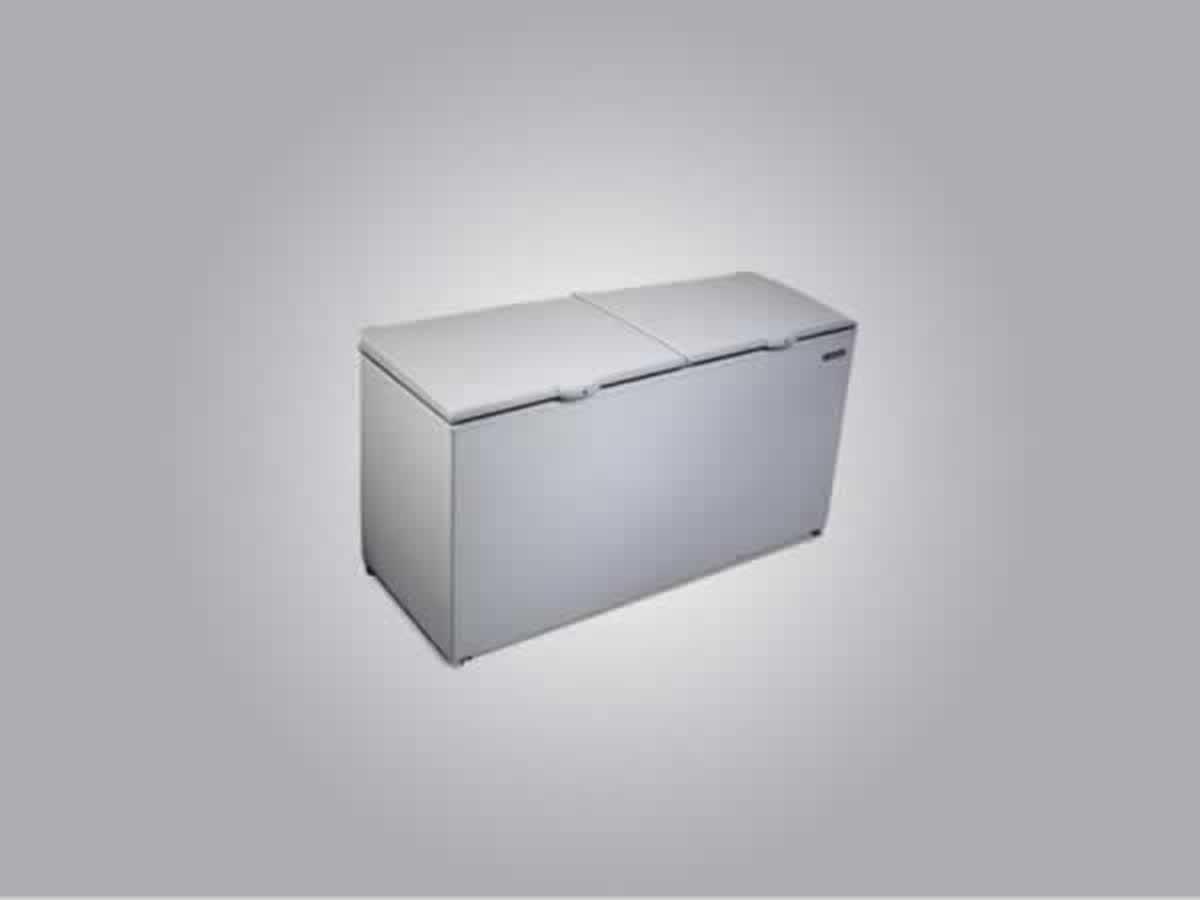 Pará de Minas - Freezer Horizontal Branco Metalfrio   ==> IMPORTANTE: O primeiro leilão se...