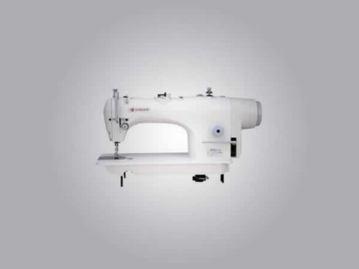 Aguaí - Máquina de Costura Industrial Singer Semi-nova, com motor e mesa, sem numeração ap