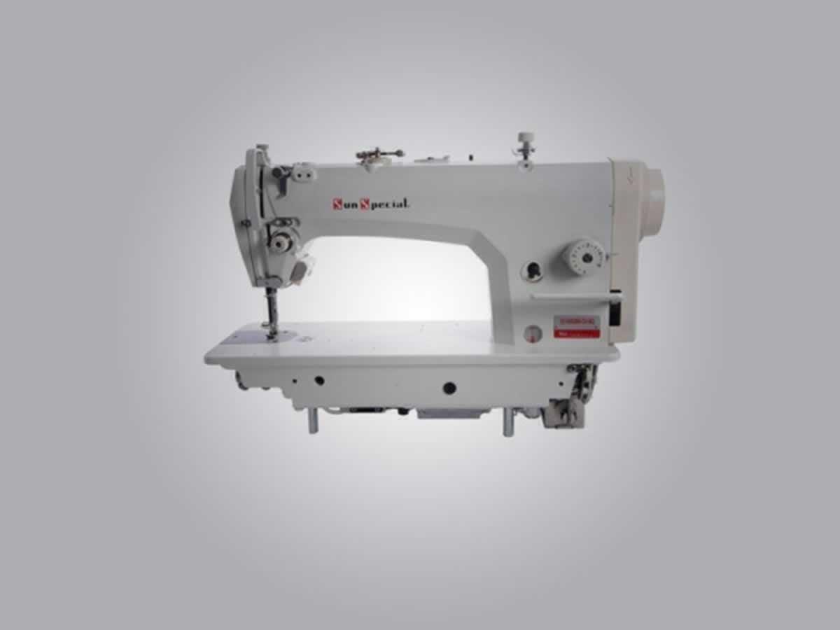 Espinosa - Quant.: 3 - Máquinas de costura reta SS-9800 D-NP-W Sun Special Semi-elétrica, ...