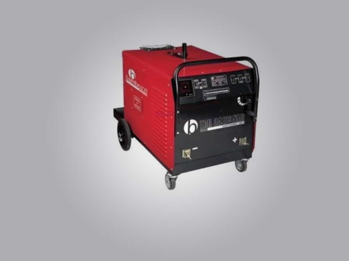 Timóteo - Máquina de solda Mig TRR34105 Bambozzi 425 amperes, cor vermelha., ANO: -  ==> I