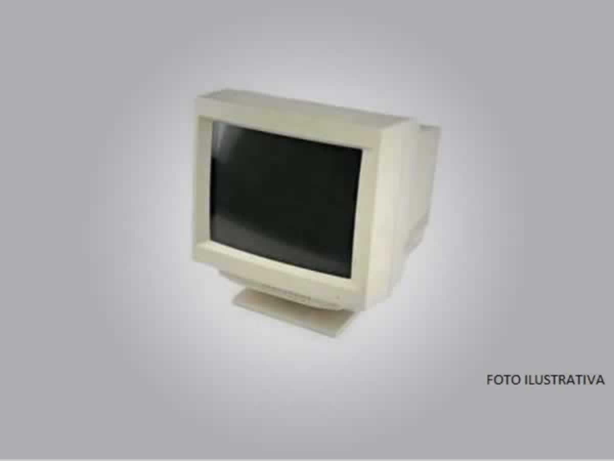 Pirapora - Quant.: 4 - Monitores de tubo LG de 12 polegadas, cor bege.  ==> IMPORTANTE: O ...