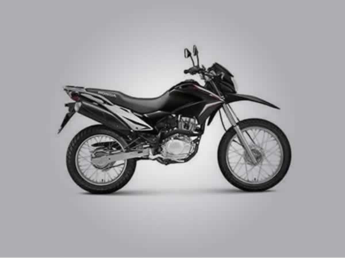 Caldas - Motocicleta NXR 125 Honda, ANO: 2003/2003, COR: Azul, PLACA 8776, CHASSI 954 Valo