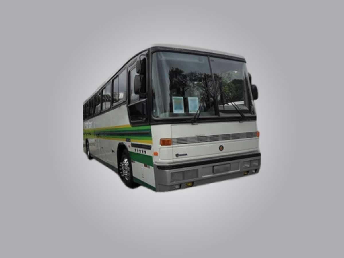 São Sebastião do Paraíso - Ônibus K113 CL Scania, ANO: 1990/1990,  COR: Azul, PLACA 7309, ...