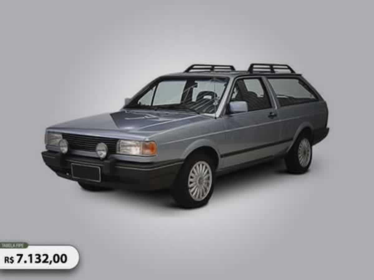 Pará de Minas - PARATI GL VW, ANO: 1990,  COR: VERDE, PLACA 0581, CHASSI 634 Valor de mult...