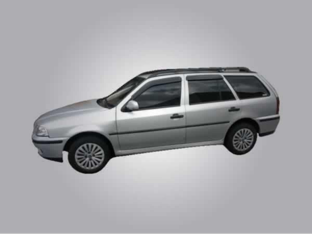 Andradas - PARATI 1.6 VW, ANO: 1999/2000,  COR: cinza, PLACA 9600, CHASSI 430 Valor de mul...