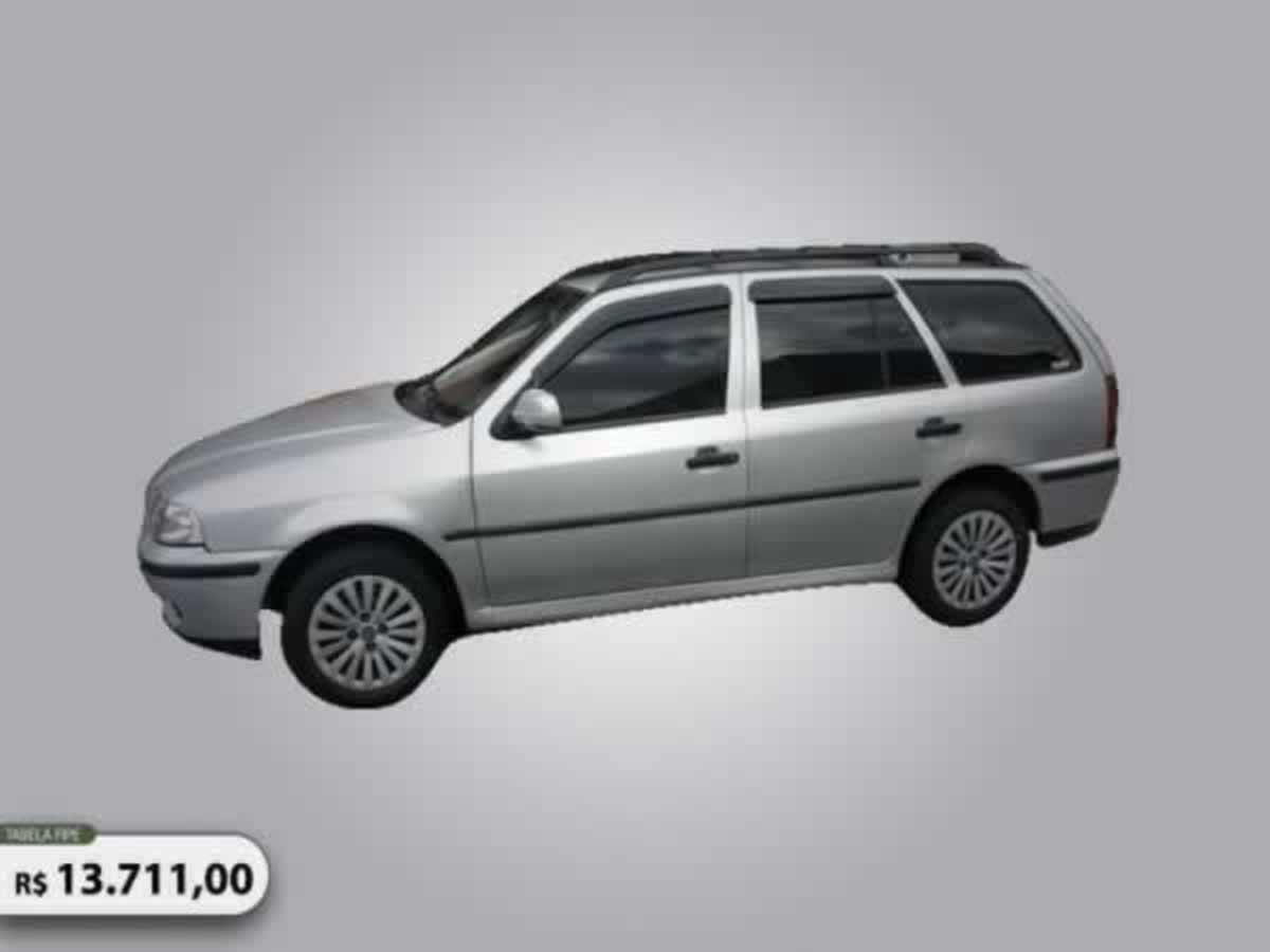 Guaxupé - Parati 16V Tour VW, ANO: 2002,  COR: Preta, PLACA 3835, CHASSI 151 Valor de mult...