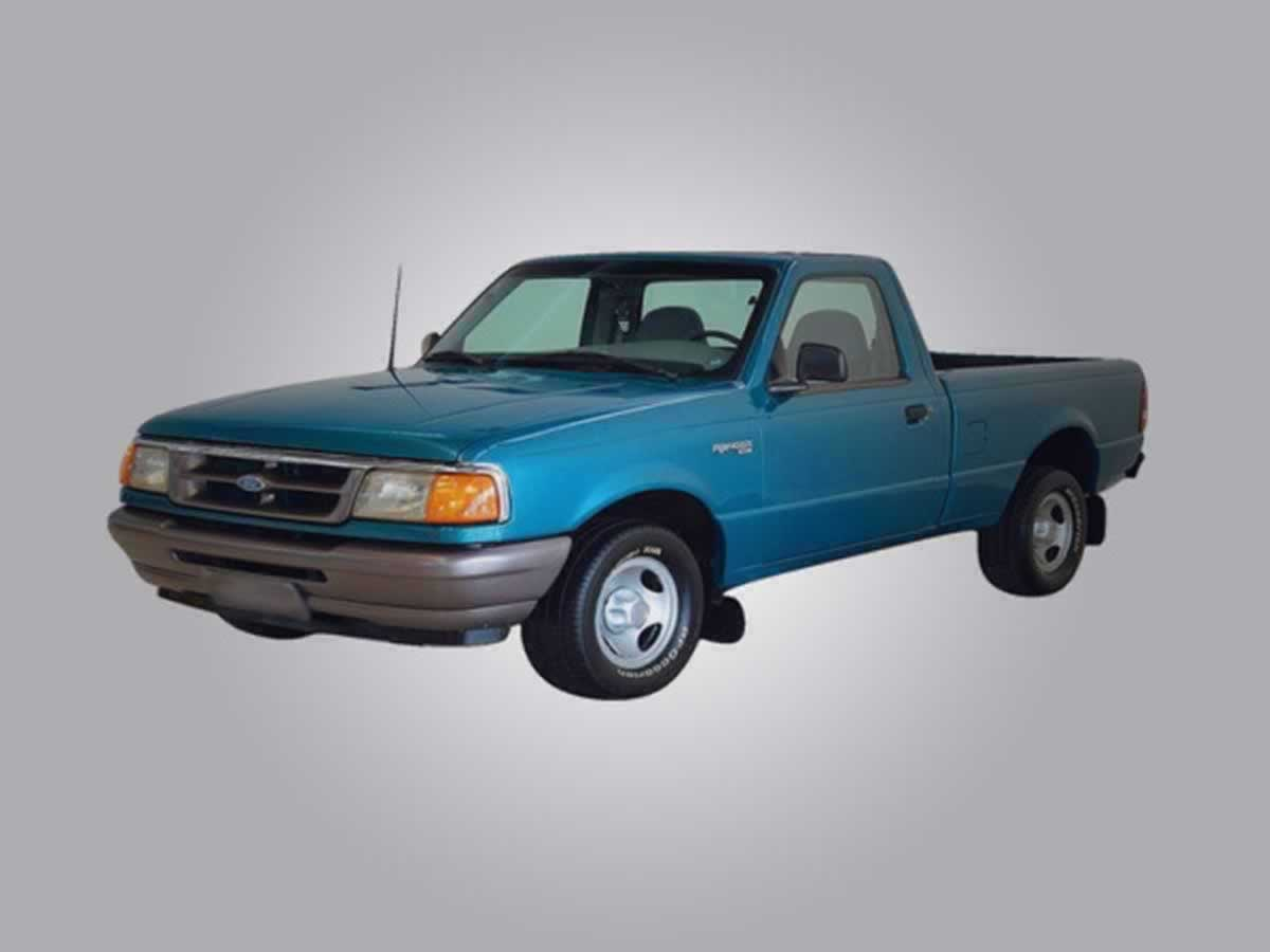 Divinópolis - Ranger XL Ford, ANO: 1995/1995, COR: Prata, PLACA 5107, CHASSI 584 Valor de
