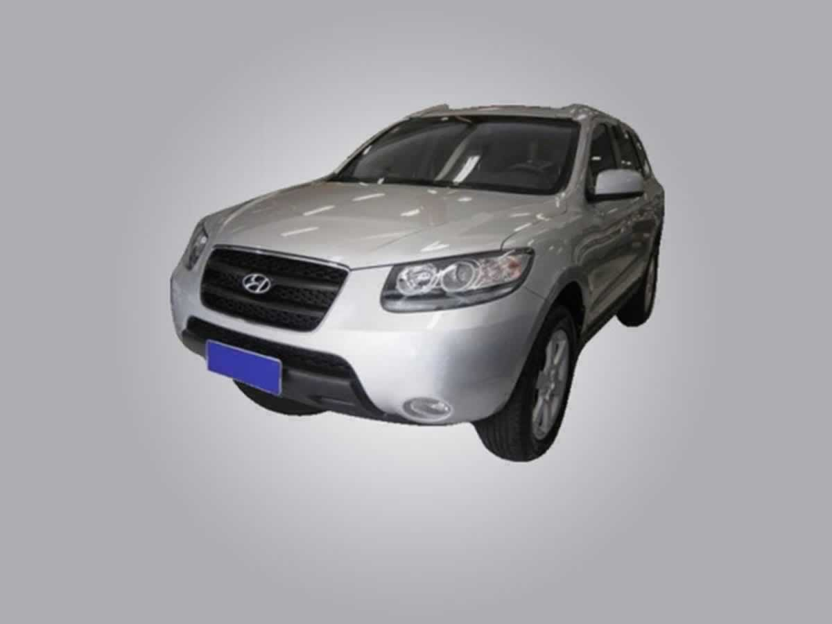 Manga - Veículo Santa Fe V6 Hyundai, ANO: 2008/2009,  COR: Prata, PLACA 2557, CHASSI 969, ...