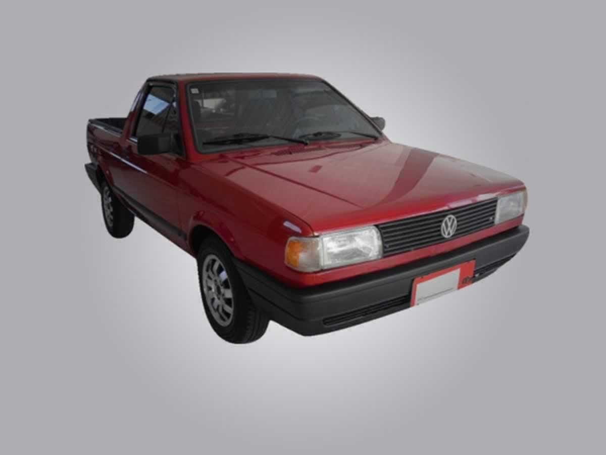 Alpinópolis - Veículo Saveiro CL VW, ANO: 1995, COR: Verde, PLACA 6381, CHASSI 118 Valor d