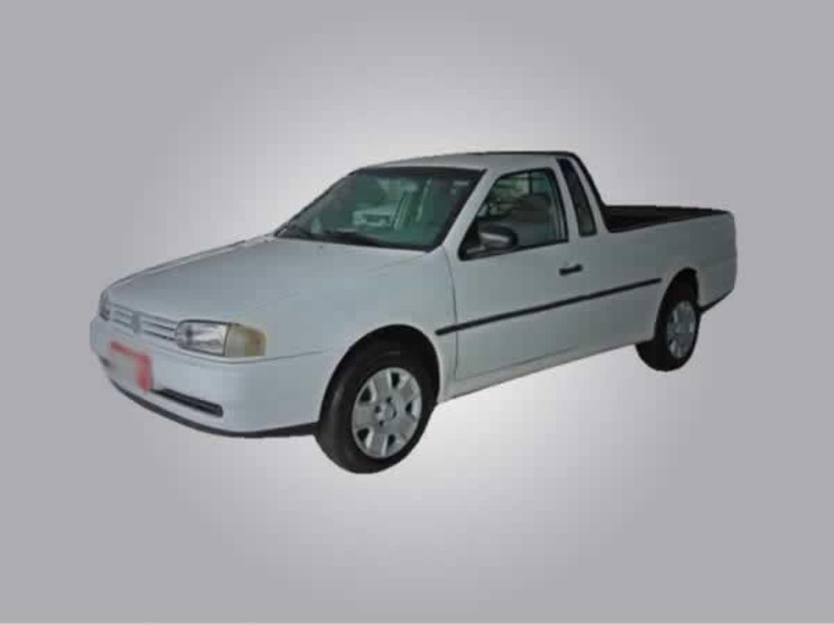 Jesuânia - Saveiro CL 1.6 MI Volkswagen, ANO: 1999/1999, COR: Cinza, PLACA 1884, CHASSI 01