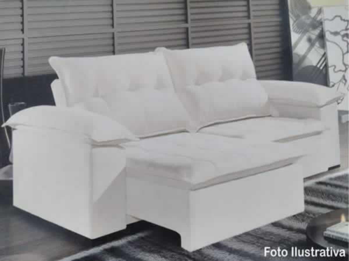 je8115jb8905 - Ubá - Sofá modelo Brenda  Dois módulos, tecido linha