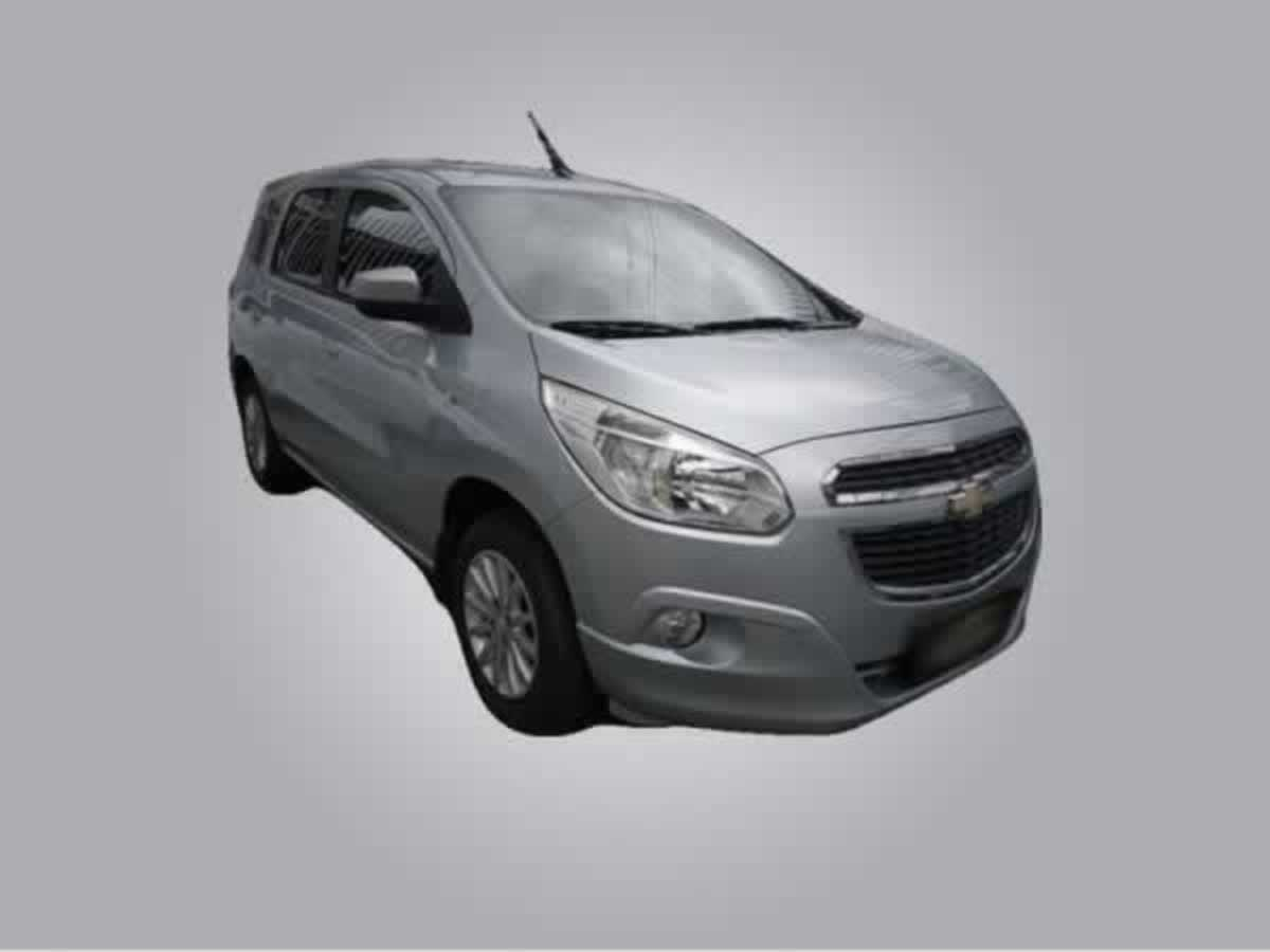 Conceição das Alagoas - Spin 1.8L AT LT Chevrolet, ANO: 2012/2013,  COR: Branca, PLACA 861