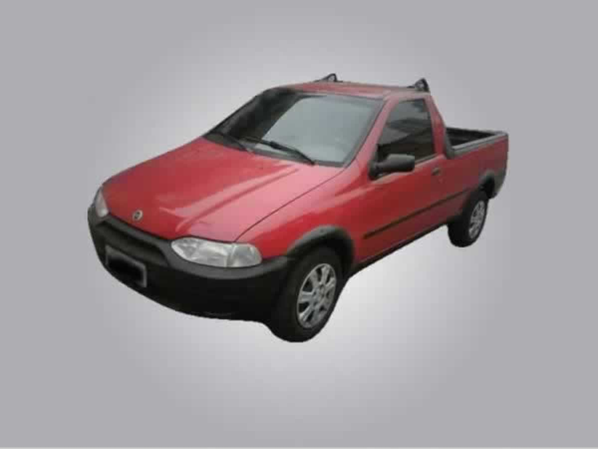 Mateus Leme - Strada Working FIAT, ANO: 2000/2001,  COR: Cinza, PLACA 2998, CHASSI 956 Val