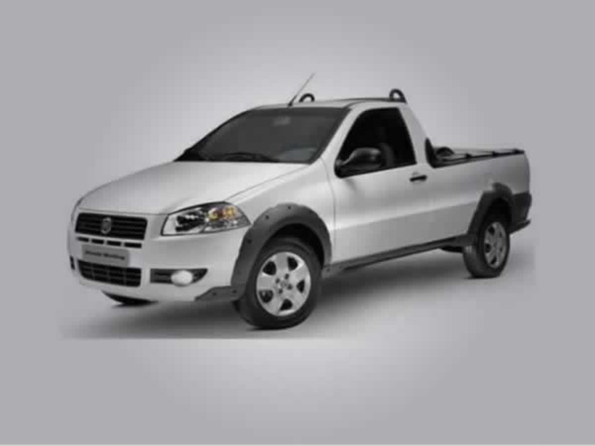 Carmo de Minas - Strada Working Fiat, ANO: 2013/2013, COR: Branca, PLACA 4328, CHASSI 137