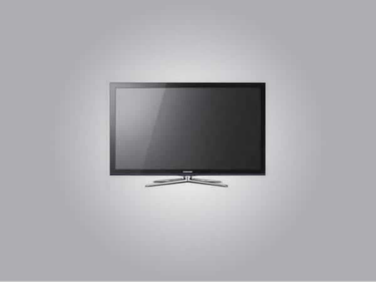 Luz - TV 32 polegadas Samsung Com controle, LCD, cor preta, bom estado de conservação.  ==