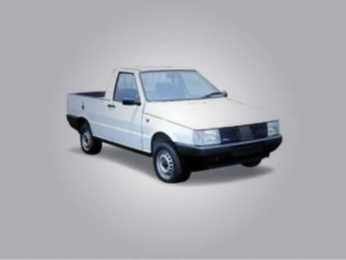 Oliveira - Uno Pick up 1.5 FIAT, ANO: 1991,  COR: Verde, PLACA 5015, CHASSI 080 Valor de m