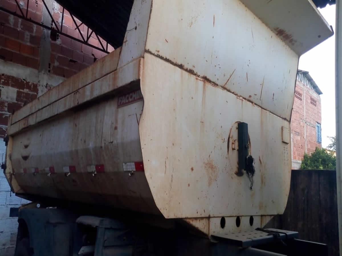 ITEM Nº: 08; Caçamba de caminhão; Facchini     Conforme edital DESPESA ADMINIST