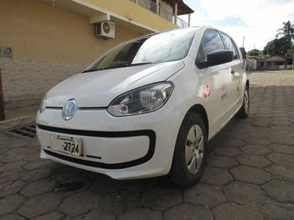 ITEM Nº: 01; Veículo; VW UP Take MA, ANO: 2014/2015, PLACA: 2724, CHASSI: 108, COR: Branc