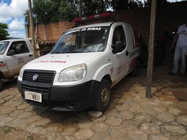 ITEM Nº: 05; Especial Caminhonete; Fiat Doblô Rontan Amb2, ANO: 2013/2013, PLACA: 8919, C