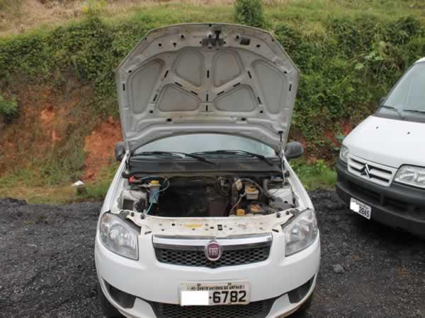 ITEM Nº: 02; Pas/Automóvel I/Fiat Siena EL 1.0 Flex; , ANO: 2014/2015, PLACA: 6782, CHASS...