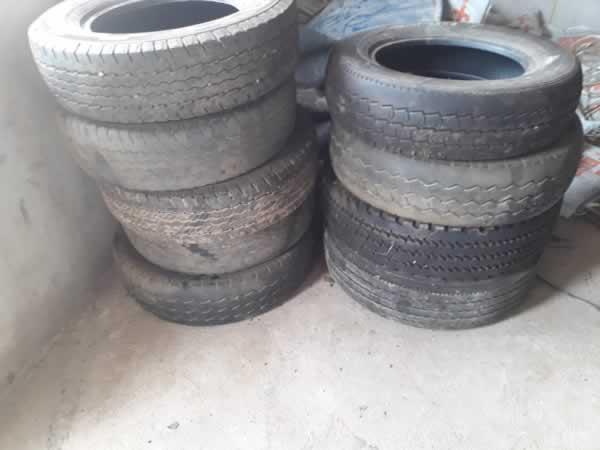 ITEM Nº: 09; Sucata de pneus.;      Conforme edital. DESPESA ADMINISTRATIVA: R$ 2,50Almox...