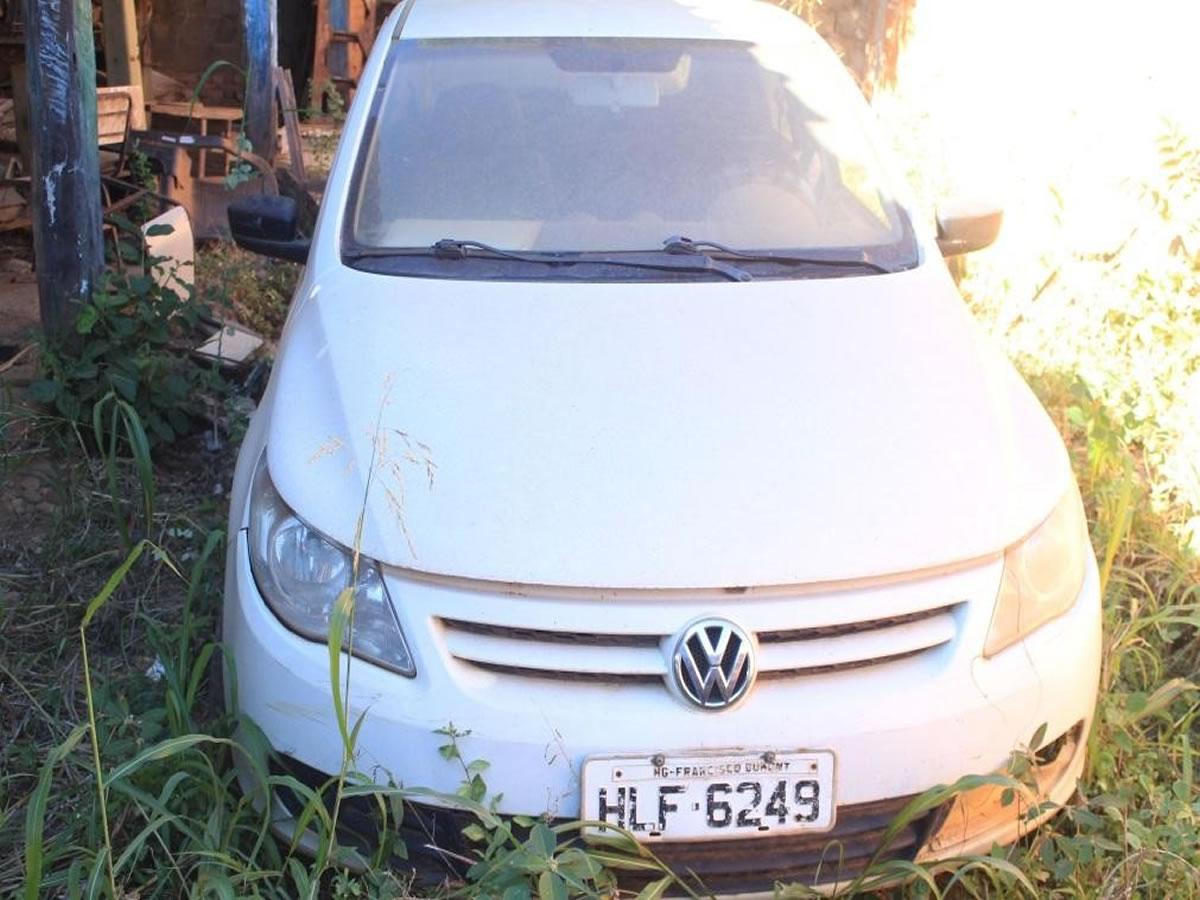 ITEM Nº: 04; Veículo; VW/Gol 1.0, ANO: 2011/2011, PLACA: 6249, CHASSI: 875, COR: branca C...